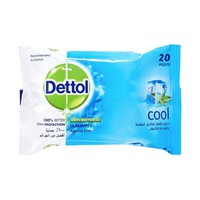 Dettol Wipes Cool 20 Sheets