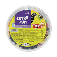 Carrefour Jelly & Liquorice Candy 600GR