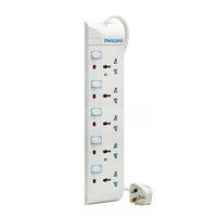 Philips Extension Socket 5Way 2Mtr