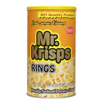 Mr Krisps Rings Ready Salted Potato Crunches 65 g