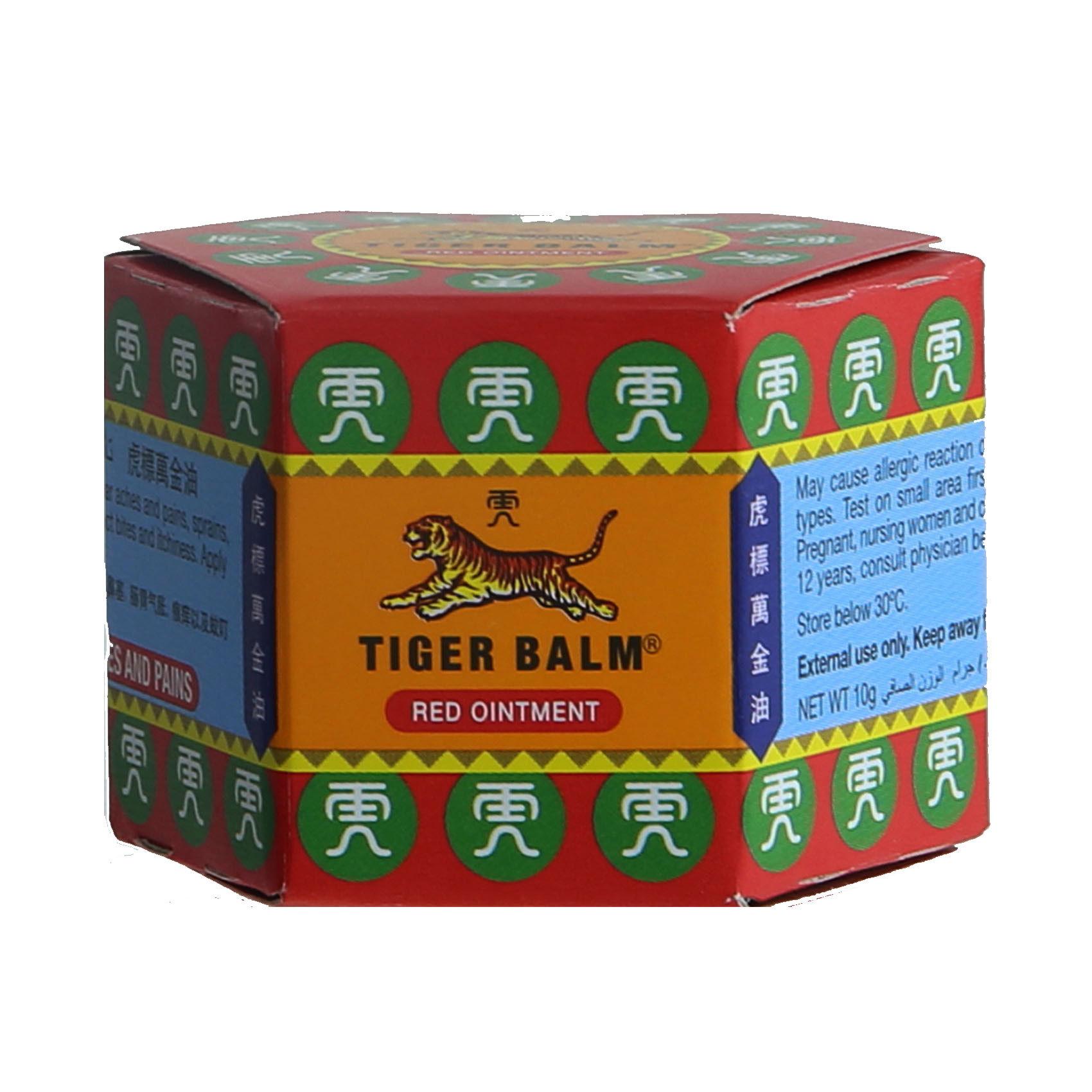TIGER BALM RUB RED (S/S) 10GM
