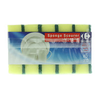 Carrefour Sponge Scourer 5 Pieces