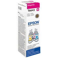 Epson Ink Bottle T6643 Magenta