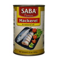 Saba Mackerel in Natural Oil 425g