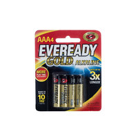 Eveready Gold AAA BP 4 Pcs