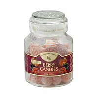 Cavendish & Harvey Berry Candies Jar 300GR