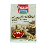Loacker Quadratini Tiramisu 220g