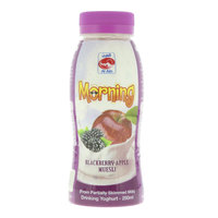 Al Ain Blackberry-Apple Muesli Drinking Yoghurt 250ml