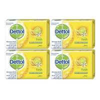 Dettol Soap Bar Fresh 120 Gram 4 Pieces