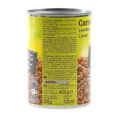 Carrefour-Lentils-400g