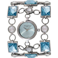 Mount Royale Women's Watch Sky Blue Dial Stainless Steel Band-E5320232