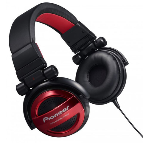 Pioneer-Headphone-SE-MJ-551-R-Red