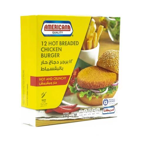Americana-Hot-Crispy-Chicken-Burger---12-Pieces