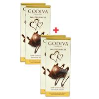 BUY 2 + 2 FREE Godiva Dark Chocolate 86g