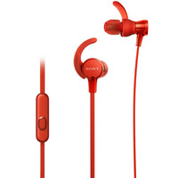 Sony Earphone MDR-XB510AS Extra Bass Sports Red