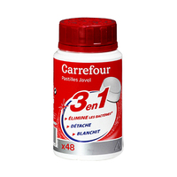 Carrefour Tablet Bleach 48 Pieces