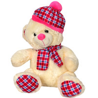 Cuddles Bear Checks Med 36Cm