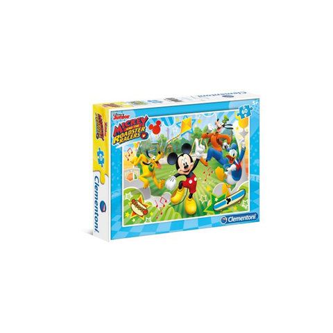 Clementoni-Puzzle-Mickey And-The-Roadster Racers -60-Pieces