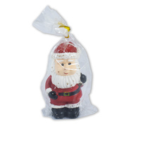 Christmas Santa Candle Red 5x11cm