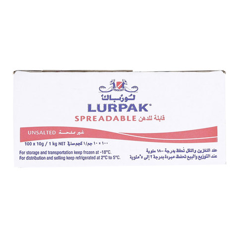 Lurpak-Spreadable-Unsalted-10g-x100