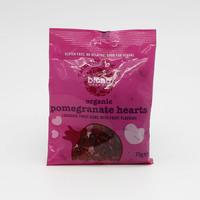 Biona Pomegranate Hearts 75 g