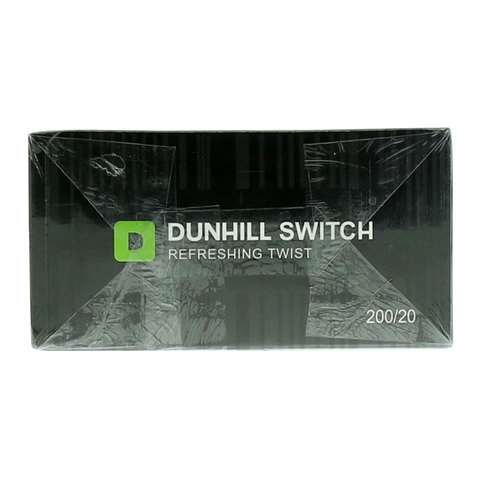 Dunhill-Switch-Black-Green-Refreshing-Twist-200/20-Cigarettes(Forbidden-Under-18-Years-Old)