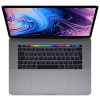 "Apple MacBook Pro MR932 i7 2.2Ghz 16GB RAM 256GB SSD 15"" Space Gray Arabic/English Keyboard"