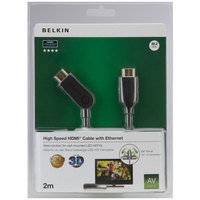 Belkin HDMI Cable  Gold Swivel 2M