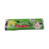 A Clean Trash Bag Medium Black 20 Sheets