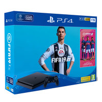 Sony PS4 1TB Slim Console+FIFA 19