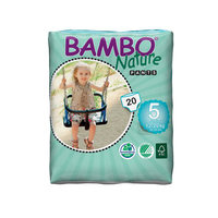 Bambo Nature Pants Pull Up Junior 12-20 Kg 20 Pieces