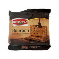 Britannia Bourbon Chocolate Flavored Cream Biscuits 200g
