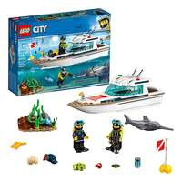 Lego City Great Vehicles Diving Yacht Building Kit