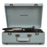 Crosley Portfolio Portable Bluetooth Turntable CR6252A  Turquoise