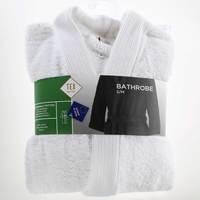 TEX Bathrobe S/M White