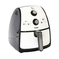 Haier Air Fryer KDK40-DDW Grill And Rost 4 Liter 1500 Watt Black And White