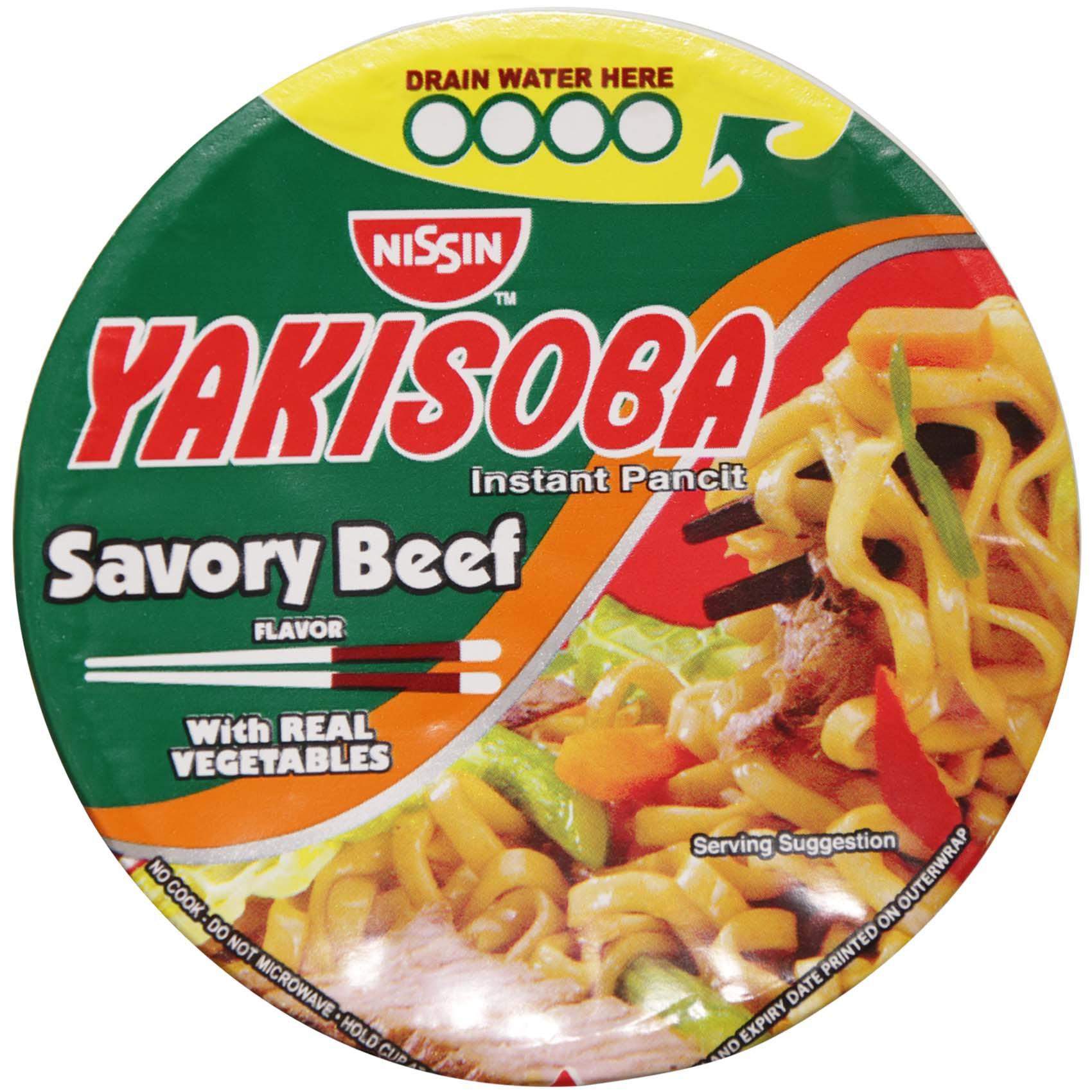 NISSIN YAKISOBASP BEEF 77GR