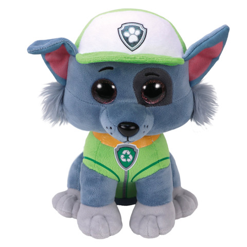 Buy TY Beanie Boo Paw Patrol Rocky Med Online - Shop null on ... 596fdbb88cb
