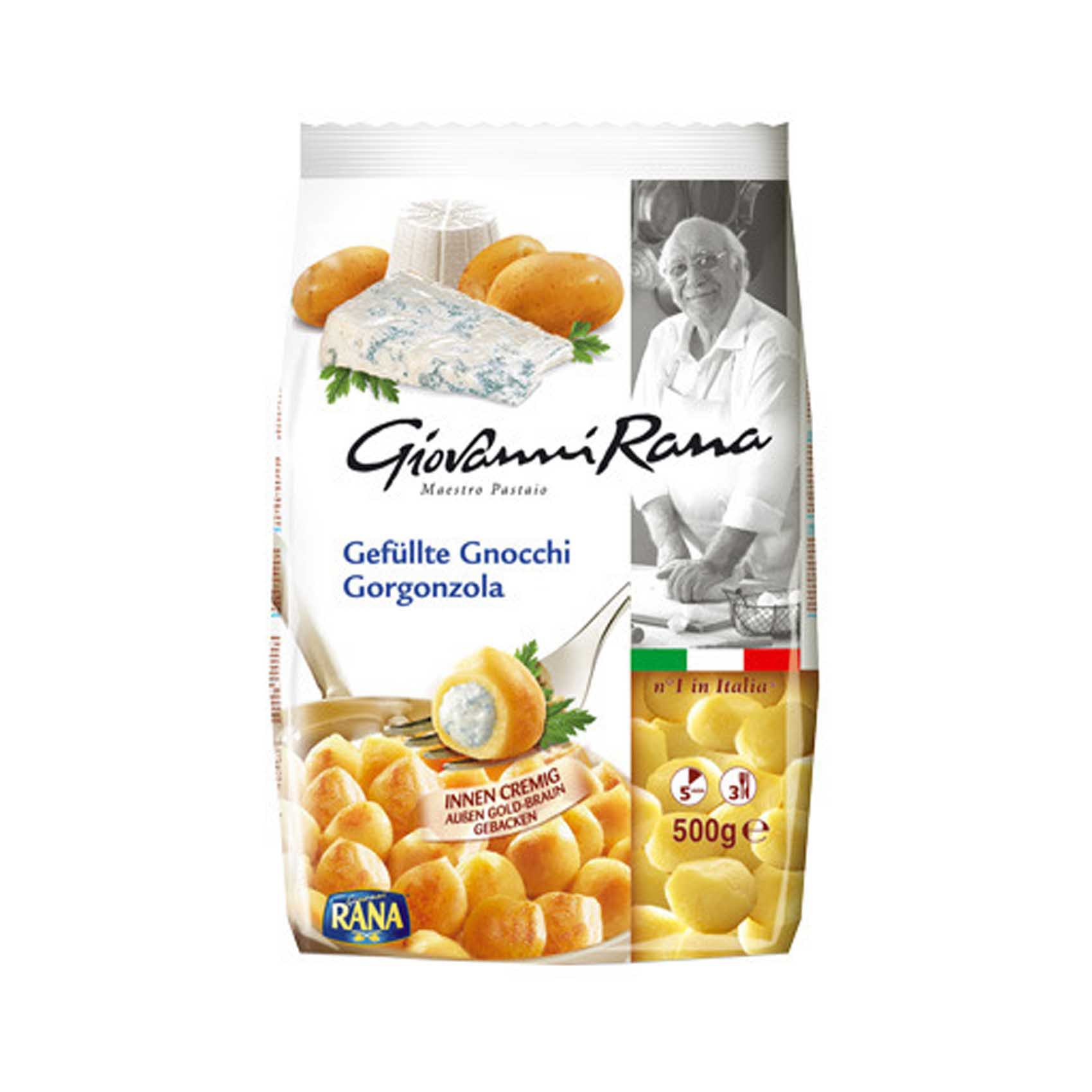 RANA GORGONZOLA FILLED GNOCCHI 500G