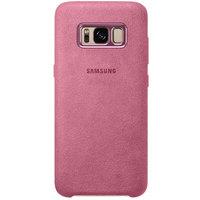 Samsung Case S8 Alcantara Pink