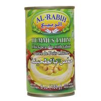 Al Rabih Hummus Tahini Chickpea Dip With Tahini 180g