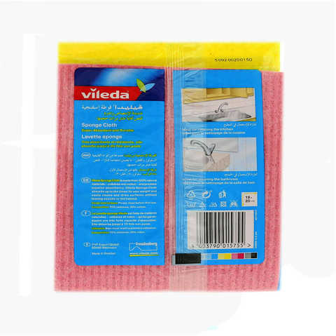 Vileda-Sponge-Cloth-/-Cleaning-Cloth-5-Pieces