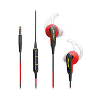 Bose SoundSport In-Ear Headphones For IOS Power Red