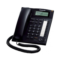 Panasonic Corded Phone KXTS880MXW Black