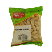 Nature's Choice Peanut Peeled Salt With Garlic 80g