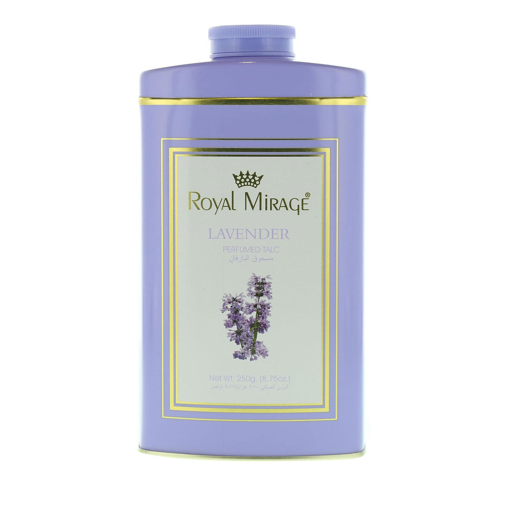 ROYAL MIRAGE TALC LAVENDER 200GM