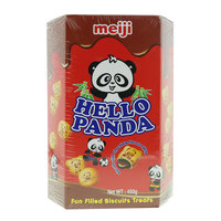 Meji Hello Panda Fun Filled Biscuits Treats 450g