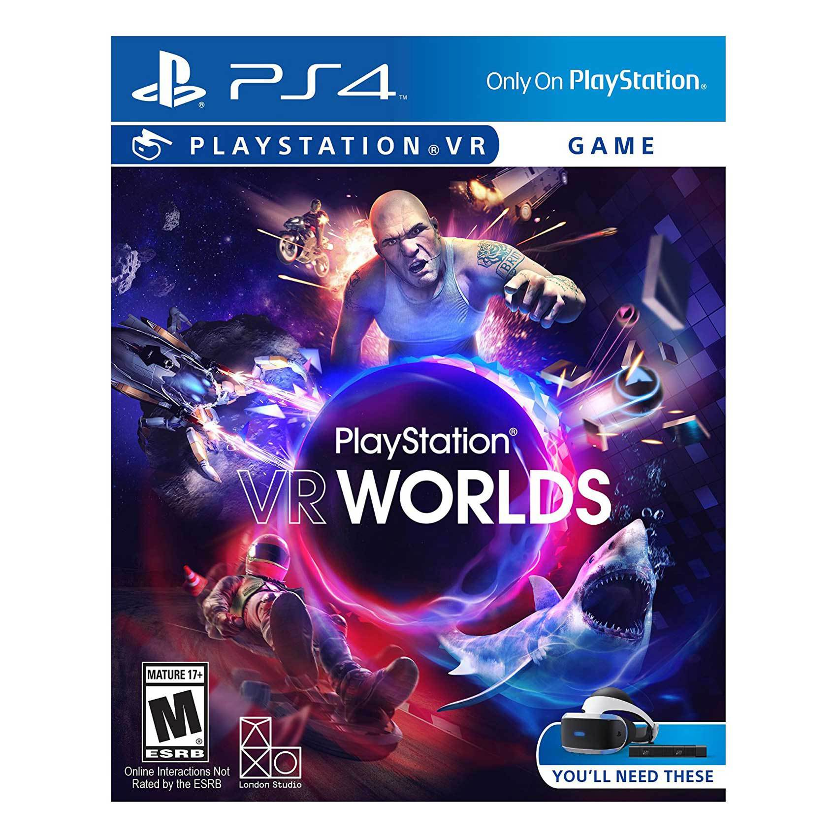 SONY PS4 VR WORLDS VR