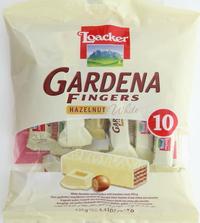 Loacker Gardena Fingers Hazelnut White 125 g