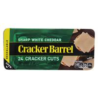 Cracker Barrel Sharp White Cheddar Cheese Cracker Cuts 198g